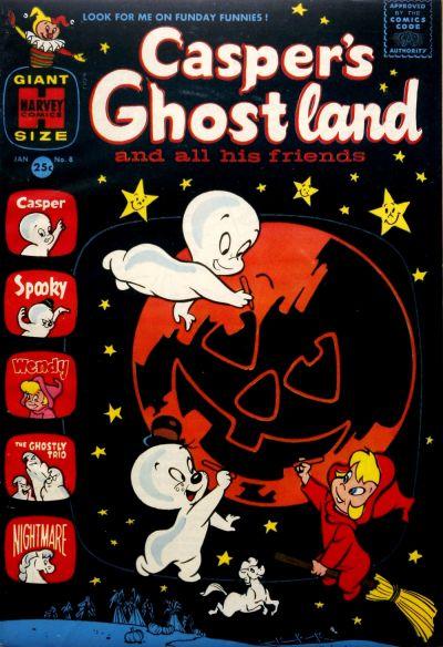 Cover for Casper's Ghostland (Harvey, 1959 series) #8