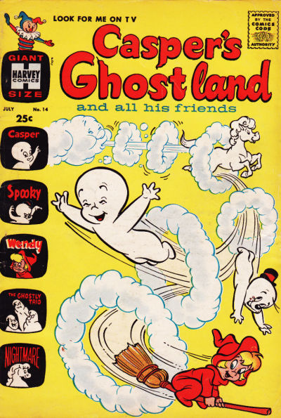Cover for Casper's Ghostland (Harvey, 1959 series) #14