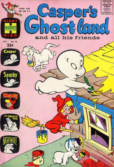 Cover for Casper's Ghostland (Harvey, 1959 series) #15