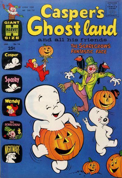 Cover for Casper's Ghostland (Harvey, 1959 series) #16