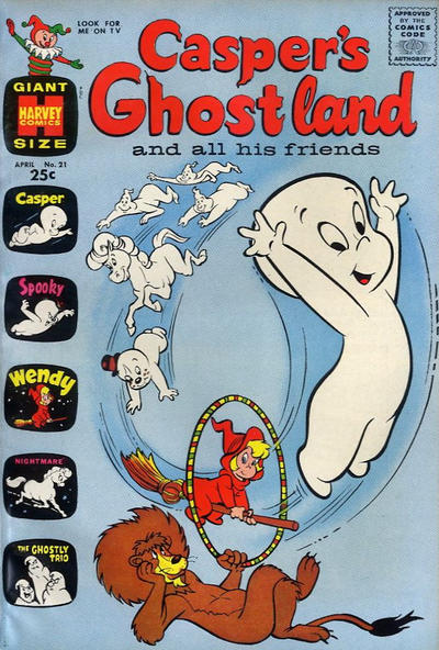 Cover for Casper's Ghostland (Harvey, 1959 series) #21