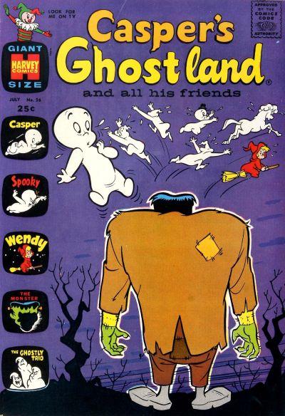 Cover for Casper's Ghostland (Harvey, 1959 series) #26
