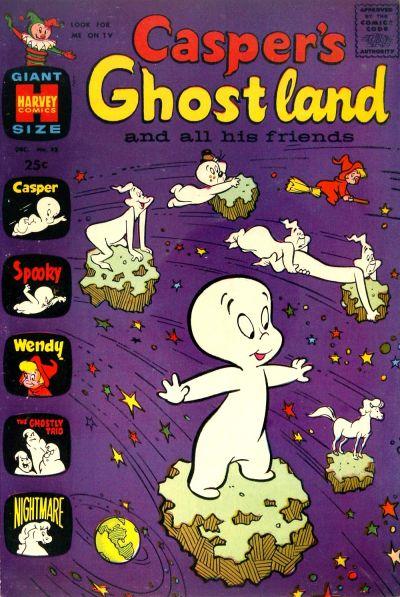 Cover for Casper's Ghostland (Harvey, 1959 series) #33