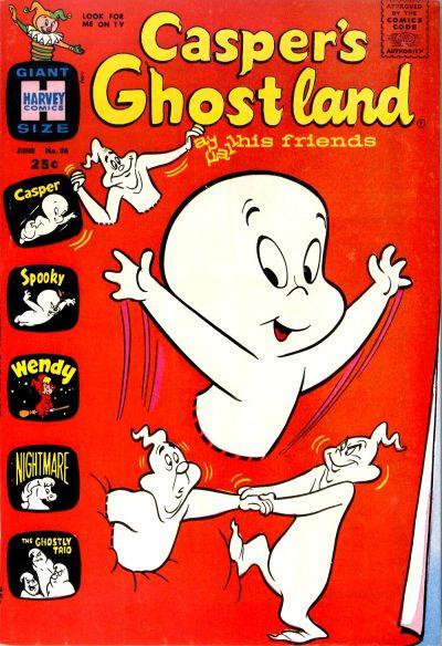 Cover for Casper's Ghostland (Harvey, 1959 series) #36