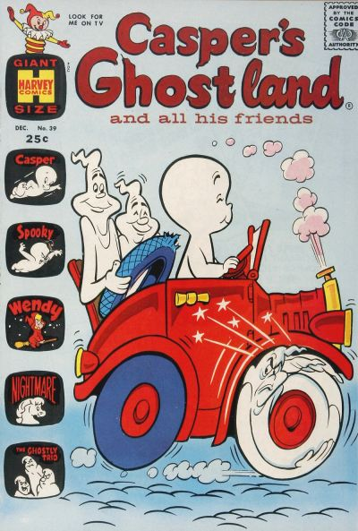 Cover for Casper's Ghostland (Harvey, 1959 series) #39