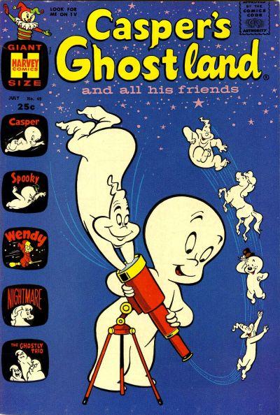 Cover for Casper's Ghostland (Harvey, 1959 series) #49