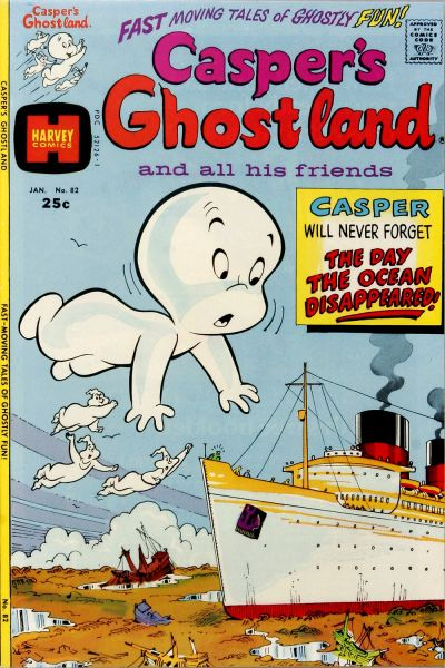 Cover for Casper's Ghostland (Harvey, 1959 series) #82