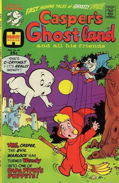 Cover for Casper's Ghostland (Harvey, 1959 series) #84
