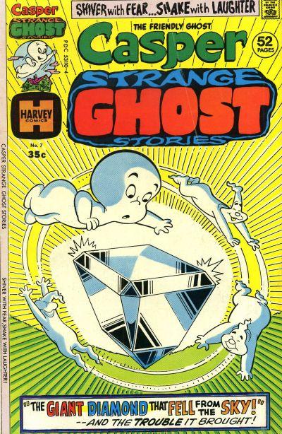 Cover for Casper Strange Ghost Stories (Harvey, 1974 series) #7