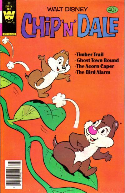 Cover for Walt Disney Chip 'n' Dale (Western, 1967 series) #67