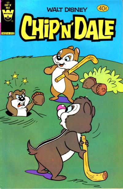 Cover for Walt Disney Chip 'n' Dale (Western, 1967 series) #69
