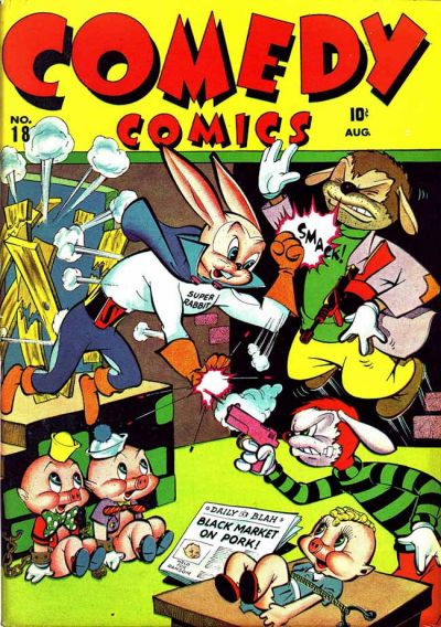 Cover for Comedy Comics (Marvel, 1942 series) #18