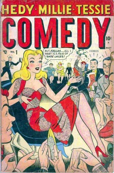Cover for Comedy Comics (Marvel, 1948 series) #1