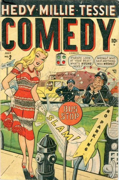 Cover for Comedy Comics (Marvel, 1948 series) #2