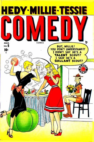 Cover for Comedy Comics (Marvel, 1948 series) #6