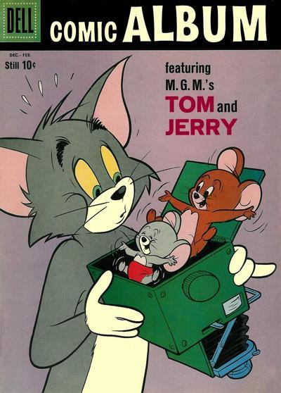 Cover for Comic Album (Dell, 1958 series) #8