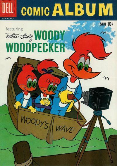 Cover for Comic Album (Dell, 1958 series) #9