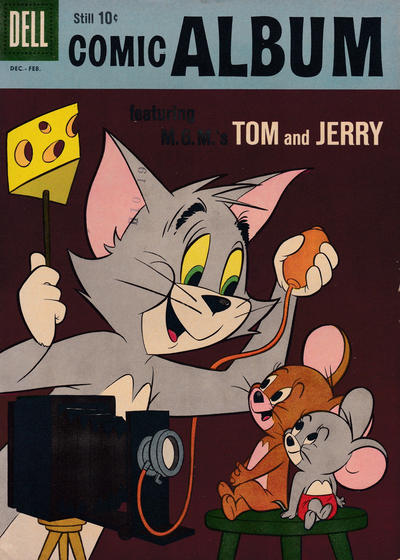 Cover for Comic Album (Dell, 1958 series) #12