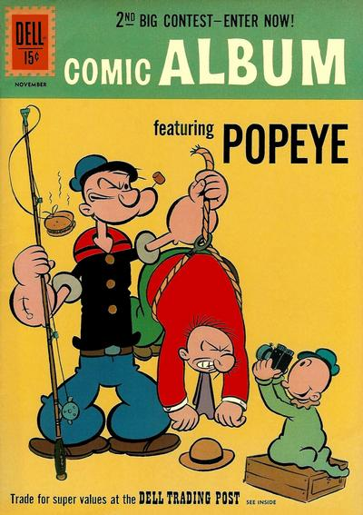 Cover for Comic Album (Dell, 1958 series) #15
