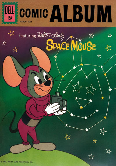 Cover for Comic Album (Dell, 1958 series) #17