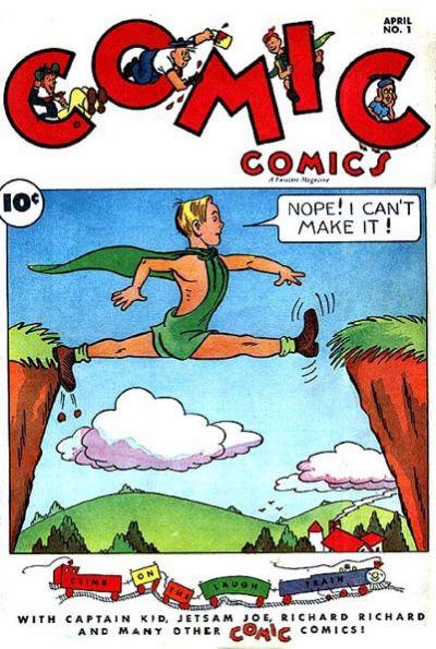 Cover for Comic Comics (Fawcett, 1946 series) #1