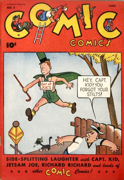 Cover for Comic Comics (Fawcett, 1946 series) #3