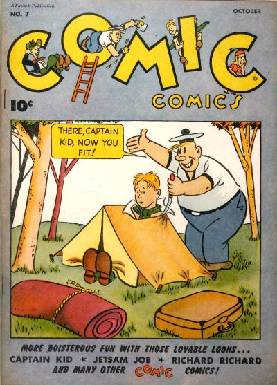 Cover for Comic Comics (Fawcett, 1946 series) #7