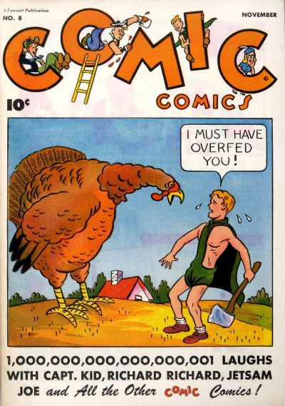 Cover for Comic Comics (Fawcett, 1946 series) #8