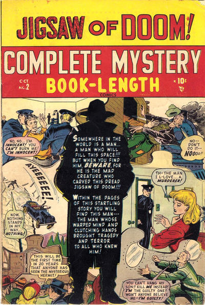 Cover for Complete Mystery (Marvel, 1948 series) #2