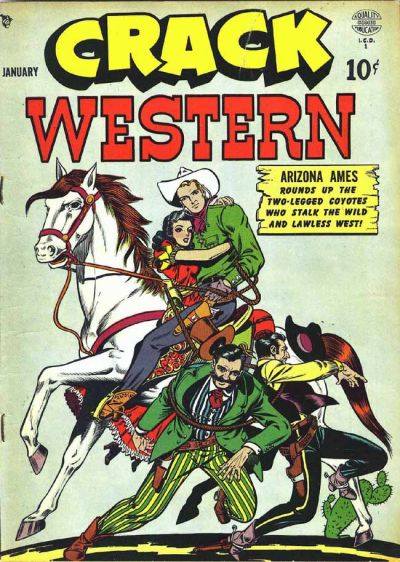 Cover for Crack Western (Quality Comics, 1949 series) #64