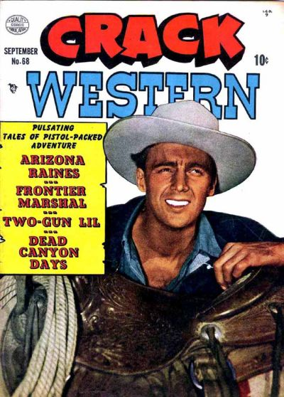 Cover for Crack Western (Quality Comics, 1949 series) #68