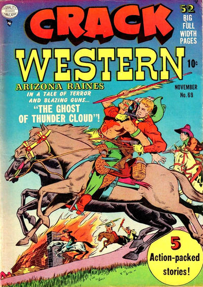 Cover for Crack Western (Quality Comics, 1949 series) #69