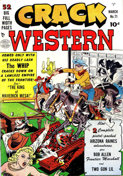 Cover for Crack Western (Quality Comics, 1949 series) #71