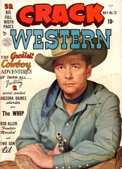Cover for Crack Western (Quality Comics, 1949 series) #72