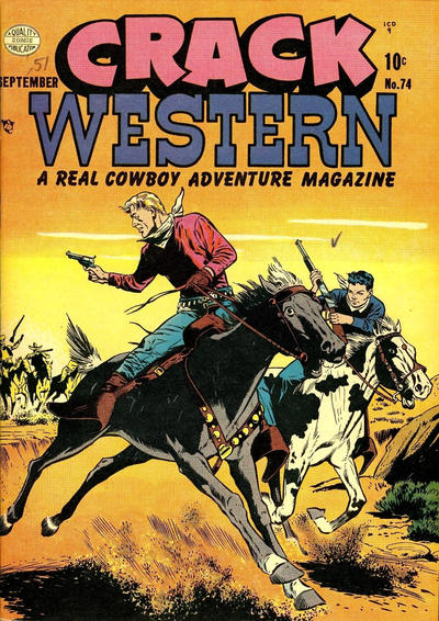 Cover for Crack Western (Quality Comics, 1949 series) #74