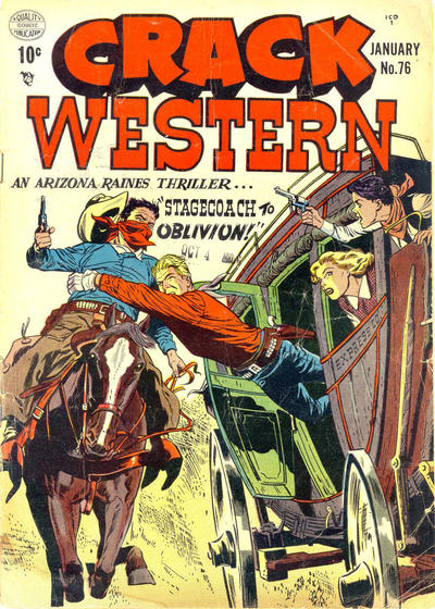 Cover for Crack Western (Quality Comics, 1949 series) #76