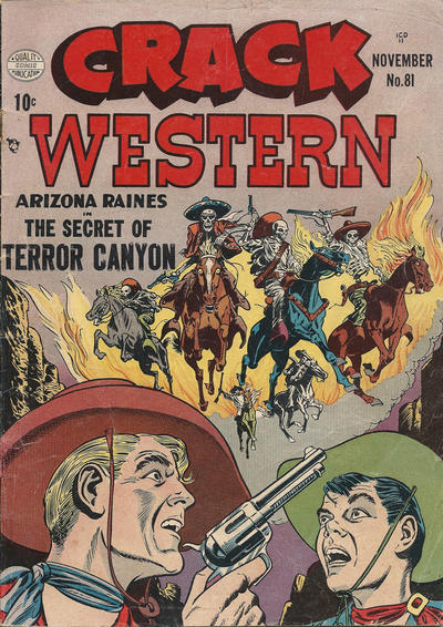Cover for Crack Western (Quality Comics, 1949 series) #81