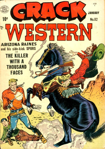 Cover for Crack Western (Quality Comics, 1949 series) #82