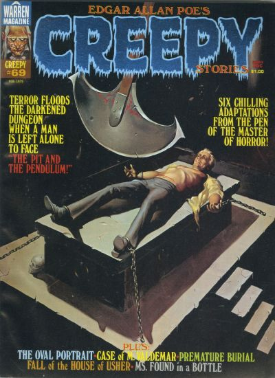 Cover for Creepy (Warren, 1964 series) #69
