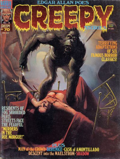 Cover for Creepy (Warren, 1964 series) #70