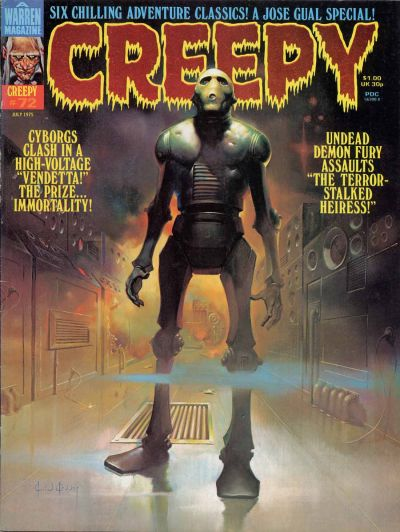 Cover for Creepy (Warren, 1964 series) #72