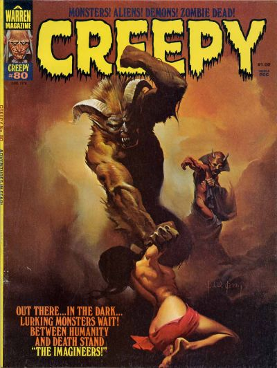 Cover for Creepy (Warren, 1964 series) #80