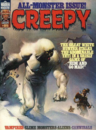 Cover for Creepy (Warren, 1964 series) #85