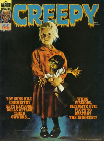 Cover for Creepy (Warren, 1964 series) #90