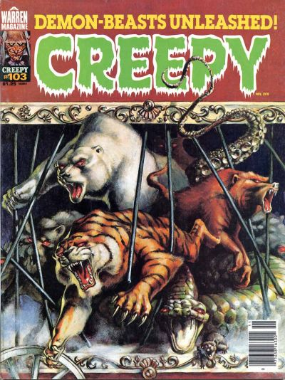 Cover for Creepy (Warren, 1964 series) #103