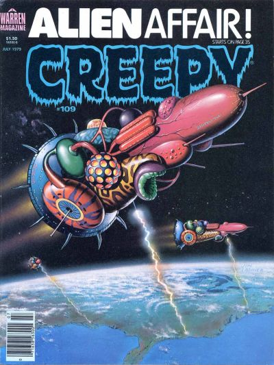 Cover for Creepy (Warren, 1964 series) #109