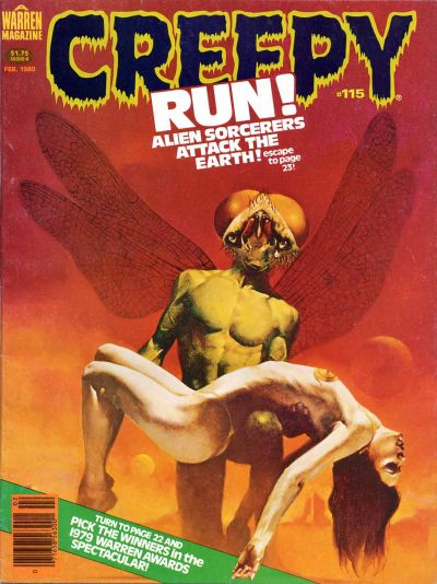 Cover for Creepy (Warren, 1964 series) #115