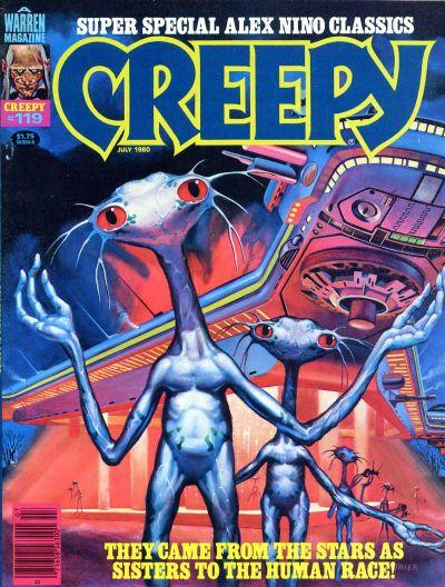 Cover for Creepy (Warren, 1964 series) #119