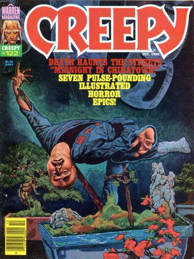 Cover for Creepy (Warren, 1964 series) #122