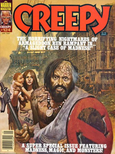 Cover for Creepy (Warren, 1964 series) #124